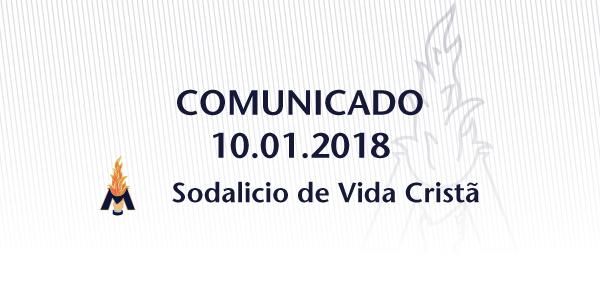 Comunicado sobre a nomeação do Comissário Apostólico para o Sodalício